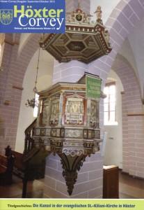 Die Kanzel in St.Kiliani