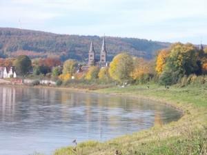 Herbst im Weserbogen